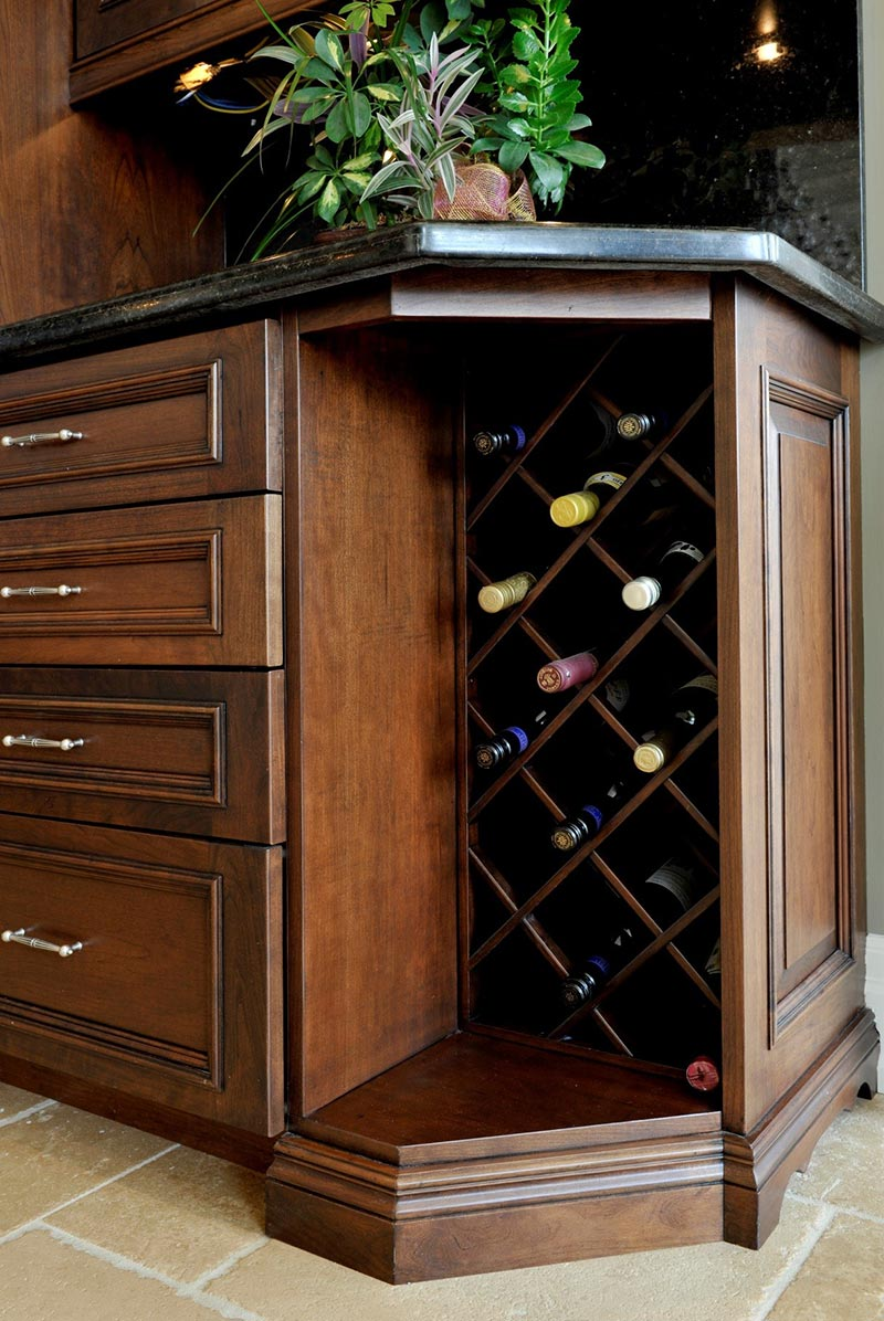 Criss Cross Wine Rack